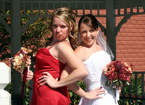 bride & maid of honor diva1