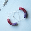 Purple Tone Paper Hoops - Limited Edition 3/50