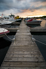 Pine Street Marina (Bryan O'Toole) Tags: sunset sky ontario canada water marina river landscape boats pier dock nikon soo tugboats saultstemarie stmarys northernontario waterscape algoma stmarysriver nikond80 nikkor1024mmdx pinestreetmarina