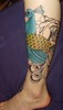 coloured body Incomplete leg piece