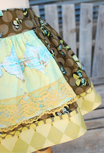 butterfly skirt