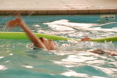 the backstroke