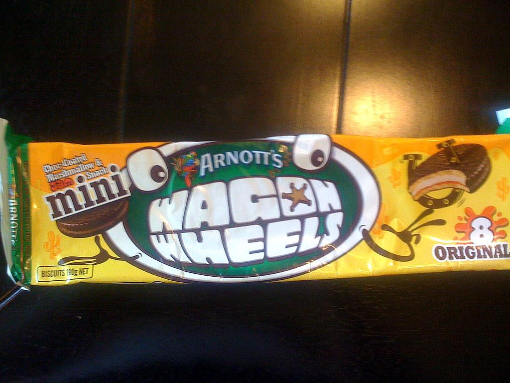 Wagon Wheels cookies