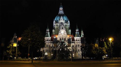 Hannover's City Hall, Deutschland por El Negro Vikingo.