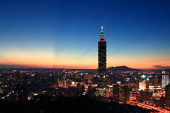 IMG_3329 (sullivan) Tags: city sunset sky sun landscape taiwan 100views 300views taipei taipei101 500views    nightphotos  1000views   blackcard   50faves ef1740mmf4lusm 100comments 25faves    canoneos400d    sullivan kenkopro1digitalprond8w  sullivan suhaocheng