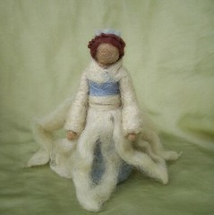 Snow Queen (haddy2dogs) Tags: felted waldorf queen needle etsy haddy2dogs