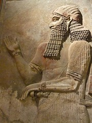Relief  from the palace of King Sargon II in his capital city of Dur-Sharrukin (Khorsabad)(2) (mharrsch) Tags: sculpture chicago king iraq royal palace relief orientalinstitute assyria sargonii khorsabad mharrsch dursharrukin heritagesite5458