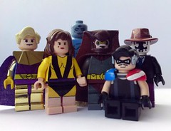The Lego Watchmen (burakki62) Tags: comic lego rorschach hero superhero comedian graphicnovel heroes minifig custom watchmen niteowl ozymandias drmanhattan silkspectre legowatchmen watchmengraphicnovel