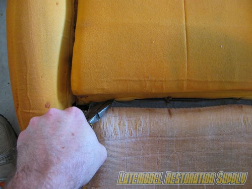 Mustang Seat Upholstery Installation