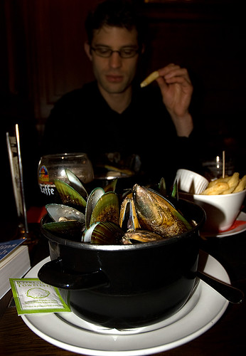 Moules Vertes - Green Mussels