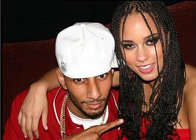 Swizz Beatz and Alicia Keys by CarlaLynneHall