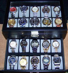 My favorite non-vintage watches (alexkerhead) Tags: auto japan skeleton fossil japanese movement mechanical swiss steel tag dive fake grand casio made automatic pro diver timex russian quartz invicta seiko gruen rolex chronograph vostok speedway relic chrono amphibia prodiver hueur invictaii