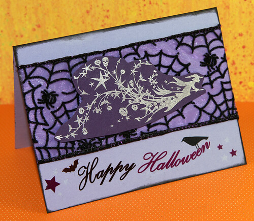 Happy Halloween Greeting Card by you.