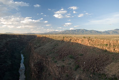 Rio Grande gorge (Scott Weatherson) Tags: travel usa holiday newmexico america river canyon taos 2009 riogrande