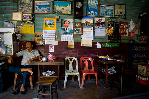 Old-school coffee shop, Songkhla