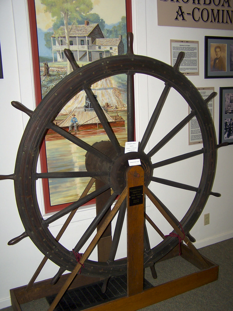 Wooden Pilotwheel