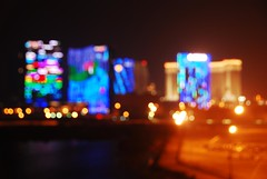 City of Dreams (Melinda ^..^) Tags: china city light urban night hotel airport bokeh casino apron mel hyatt venetian crown melinda macau cod  cotai cityofdreams hbw sooc cotaistrip chanmelmel