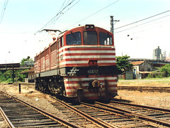 FPM98 Locomotiva Fepasa 6352 'Vandeca' (Fernando Picarelli Martins) Tags: generalelectric ferrovia fepasa locomotiva locomotivaelétrica ferroviapaulistasa vandeca jundaísp primeiraviagem1967