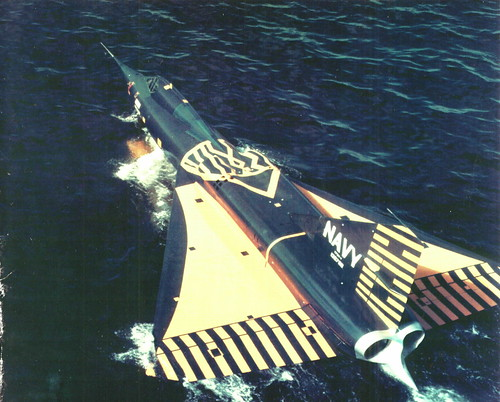 Warbird picture - Convair F2Y-1 Sea Dart,Sea Plane Fighter