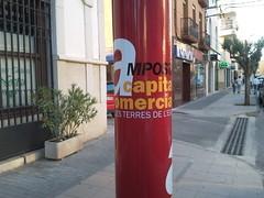 Amposta: nous anuncis a les faroles en campanya electoral