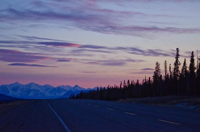Yukon sunset