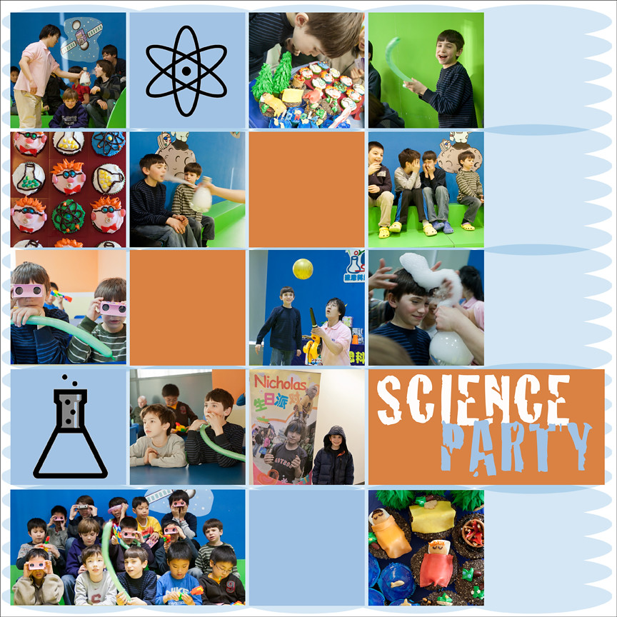 Day 23 - Science Party