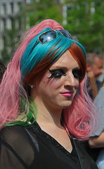 1e Amsterdamse Slutwalk. (Knoffelhuisie Photography.) Tags: gay woman man home amsterdam lesbian dragqueen tatos slutwalk