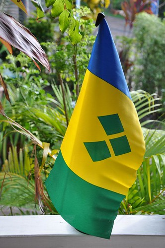 Flag of St. Vincent