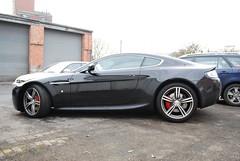 Vantage N400 (Matt-Hill) Tags: red black sports car martin special pack expensive edition rare find supercar v8 aston worcester v400 vantage valet 240 amv8 n400