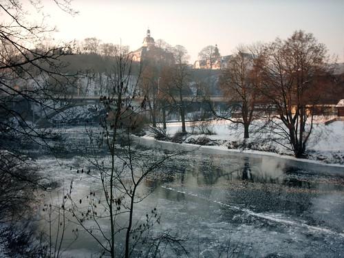 Weilburger Schlossblick im Winter