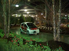 Eco drive in Cobo basement