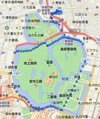 Run around the Imperial Palace