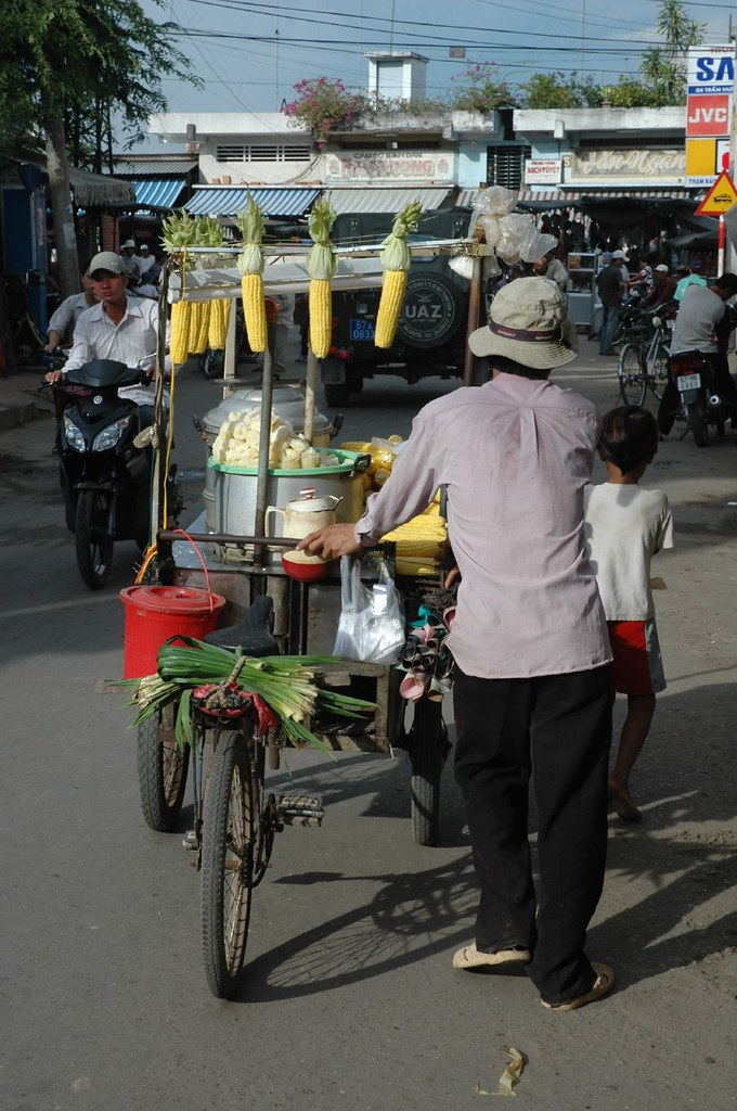 Chau Doc corn man