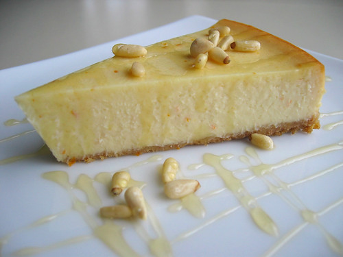 Gastronomer's Guide: Honey-Orange Ricotta Cheesecake