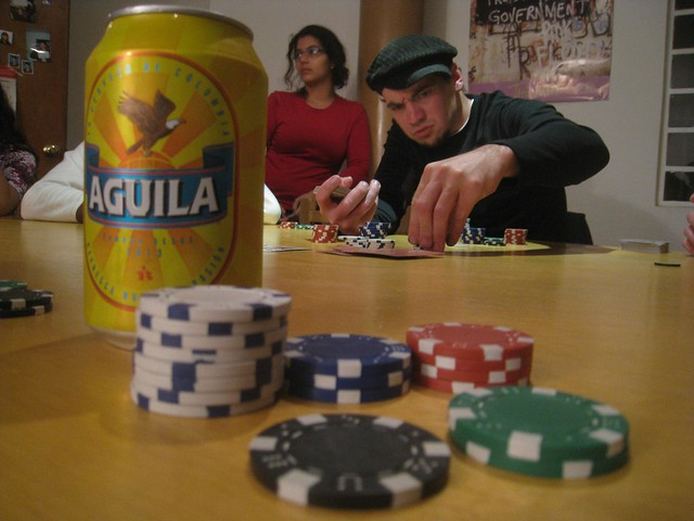 Weekly expat poker game