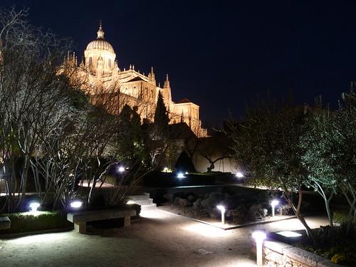 Huerto de Calixto y Melibea, vista catedral