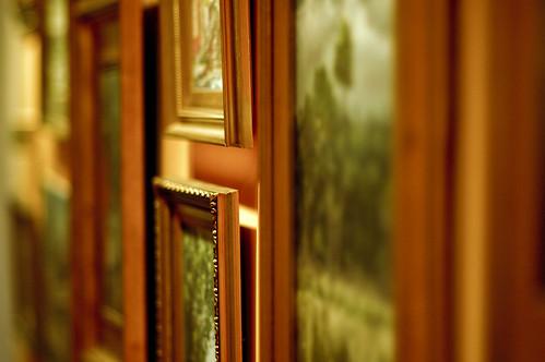 Gilded frames