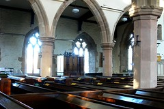 North aisle, St Margaret of Antioch - Crick