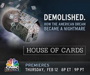 CNBC's 'House of Cards' explains financial crisis
