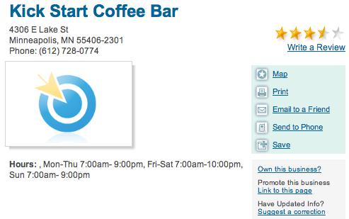 Kick Start Coffee Bar