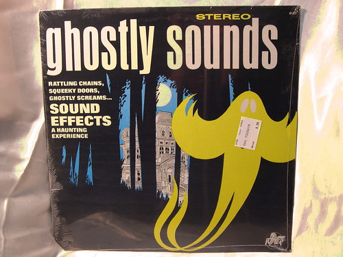 GHOSTLY SOUNDS HALLOWEEN RECORD LP