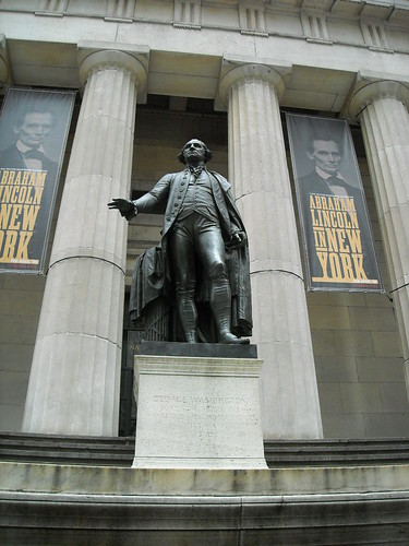George Washington, Federal Building, NYC