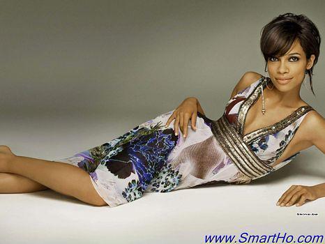 pretty wallpaper pictures. American Actress Rosario Dawson Pretty Wallpaper And Photo
