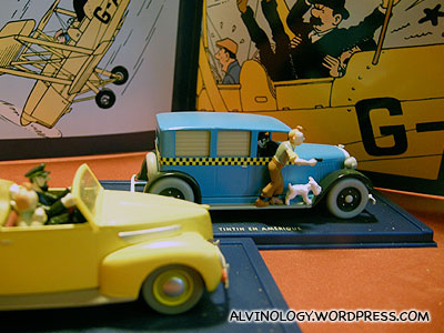 Tintin toys