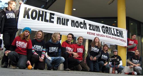 Protest-Grillen bei Vattenfall (Anja Vatterodt/knnzg.de)