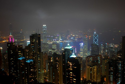 Hong Kong Nightview from the Peak