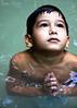 Faith (MIRANDA, Bruno) Tags: portrait brasil river child retrato faith naturallight bm innocence criança 1785mm littleboy pará fé amazônia inocência igarapé expressãofacial luznatural 40d brunomiranda expressionface