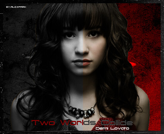 # 5 ~ Demi Lovato - Two Worlds Collide by ? alezpar?