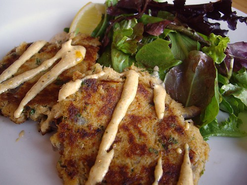 Crab Cakes from Black Creek Bistro (Columbus, OH)