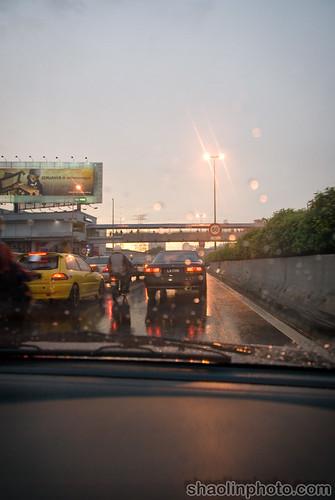 Rain & Traffic